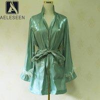 Pigiama di moda pigiama camicetta Casual primavera autunno autunno piuma tassle teschi gold linea cardigan lungo vintage camicie da donna camicie