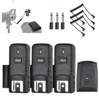 16 Channels Wireless Radio Flash Trigger Transmitter + Receiver Set for Canon Nikon Pentax Studio Speedlite Flash