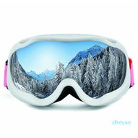 Lunettes de ski lunettes de neige lunettes de snowboard double couches anti-brouillard masque gros masque lunettes ski lunettes hommes femmes obaolay wi jllsoo dadyshome