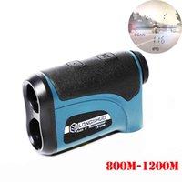 Laser-Rangfinder-Jagd 800m 1200m Teleskop-Laser-Entfernungsmesser Golf Digital-Monocular-Reihe Finder Winkel Messwerkzeug T200603