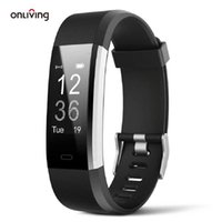 OnLiving Smart Watch Fitness Tracker Pulseira Frequência Heart Pressure Band Bracelete Monitor de Monitor para e Android Wristbands