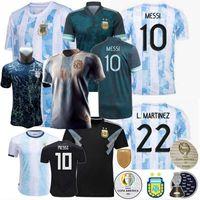 2021 2022 الأرجنتين لكرة القدم الفانيلة Otamendi de Paul L.Martinez Kun aguero dybala di maria maria maradona tagliafico كرة القدم الرجال النساء الاطفال قميص