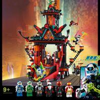 844ピース忍者帝国帝王寺院71712ブロック忍者ビルディングキットモデル子供のおもちゃ