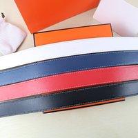 2021 h cinturones de la marca de la marca de la marca de la marca de lujo de la letra de lujo de la alta calidad para los hombres de cuero de las mujeres altamente con caja de regalo
