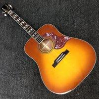 41 بوصة هنغ مينغ الغيتار الصوتية التبغ أمة الله الانتهاء الصلبة الأعلى h- الطيور guitare acoustique روزوود