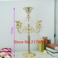 Party Decoration High Wedding Center Piece Crystal Flower Stand Banquet Favor Tall And Large