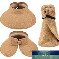 Womens Floppy Summer Sun Beach Straw Hat UPF 50+ Foldable Wide Brim visor hat female travel accessories Factory price expert design Quality Latest Style Original
