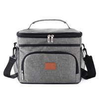 Storage Bags Handbag Cooler-Bag Lunch-Box Picnic Insulated Tote Shoulder Anti-Leakage Portable 15L