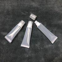 8 ملليلتر 10 ملليلتر 15 ملليلتر ضغط الشفاه لمعان الأنابيب شفاه حاويات زجاجات فارغة إعادة الملء لينة أنبوب مستحضرات التجميل