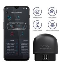 Code Readers & Scan Tools XTOOL AD10 OBD2 Diagnostic Scanner Bluetooth-compatible ELM327 Read Work Car Fault Scanning Detection Instrument