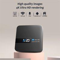 Ultimi Android 10 OS H20 Smart TV Box 3D Video 2 GB RAM 16 GB Set Top Box Android Media Player con mini tastiera 1G 8G