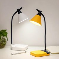Table Lamps 18650 Rechargeable Lamp Touch LED Desk USB Study Light With 3 Level Dimming