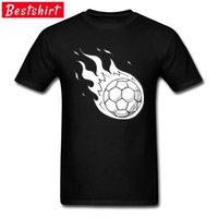 Politika Tarzı T-shirt Erkekler Futbol Topu Alev Basketballer Tshirt Yüksek Piksel Hiçbir Tutkal Tasarım Tanzanya T Gömlek Giyim 210420