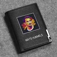 Maty Hummels Wallet Designer Drukuj Purse Football Star Short Cash Note Case Money Notecase Skórzane Bagse Torba Posiadacze