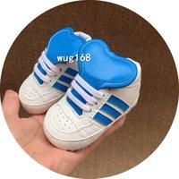 AD2021 Toddler Baby Shoes Boys Girls Soft Soled First Walkers Kids PU in pelle antiscivolo scarpe da ginnastica neonato per bambini