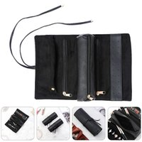 Watch Boxes & Cases 1Pc Travel Jewelry Organizer Portable Roll Bracelets Earrings Bag