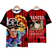 Tek Parça 3D Erkekler T-shirt Anime Tshirt Harajuku Comics Naruto Ağartma Baskı Tee Moda Yabancı Şeyler Tops