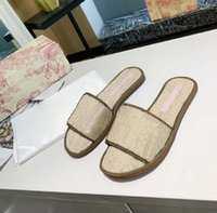 Spring and summer Quality slipper Sandals Flat Slide Basketball Shoes temperament Slippers Flip Flops Women Slippers by High-end quality.