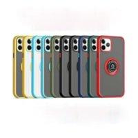 Kamera Koruma Halkası Tutucu Telefon Kılıfı Için iphone 12 11 Pro Max XR XS Max X 7 8 Artı 12mini 12Pro Araba Tutucu Kapak iphone 12 Prokax