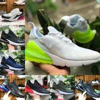 Nike Air Max 270 shoes New airmax Vapormax 270 2021 Nuovo 27c Bred Bred Tint Tint Uomo Donne Scarpe da corsa Triple Black Bianco Confezione Università 27Cs