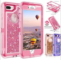 Bling crystal liquid flash protection designer mobile phone case robot shockproof and non-waterproof back cover is suitable for the new iphone 12 Note 20
