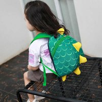 bag Korean children's bag autumn 2021 backpack cute little dinosaur fashion schoolbag for boys and girls