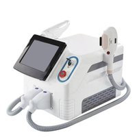2021 Portable OPT 2in 1 hair removal powerful Nd yag laser ipl machines for hairs Removals and skin rejuvenation