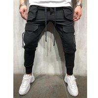 Mens Joggers Casual Pants Fitness Men Sportswear Tracksuit Bottoms Skinny Sweatpants Trousers Male Black Gyms Jogger Track Pants
