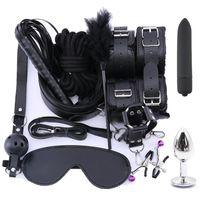 Bondage Bdsm Toys Gear Restraints Adult Sex Rope Anal Plug Vibrators Games For Couples Exotic Accessories