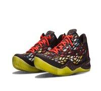 Yeni Varış Siyah Mamba Noel VIII 8 Ön Prelude Yansıma Erkekler Basketbol Ayakkabı Satılık Kutusu Mamba Mententalite 8 Ayakkabı Boyutu US7-US12