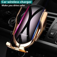 Smart Sensor Automatic Clamping Car Wireless Charger Stand Air Outlet Multifunction Phone Holder Auto Charging Bracket