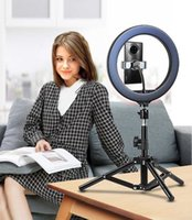 26cm LED Ring Lighting Photography with tripod lamp makeup video for selfie photos taken by mobile phone Youtu