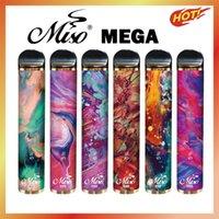 MISO Mega одноразовые сигареты 5000Установок 4000 мАч 6 мл масло подмышечные 10 цветов Bang XXL выключатель Duo Dazzle Air Bar Max Poy