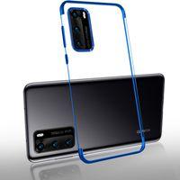 الهاتف الخليوي الحقائب تصفيح حالة شفافة لهواوي P40 Pro Plus Lite E 4G 5G Y7P 2021 Nova 6 7 SE 7i Honor 9C Soft Silicone Clear Clean