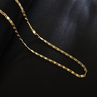 Chains 925 Sterling Silver 16 18 20 22 24 26 28 30 Inch 18K Gold Basic Chain Necklace Men's And Women's Fashion Wedding Jewelry