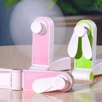 핸드 헬드 접이식 미니 팬 USB 가제트 포켓 휴대용 야외 가정용 충전 데스크톱 작은 전기 팬
