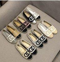100% Designer in pelle Designer di lusso Shoes Shoes Lafers Donne Casual Casual Posizione classica Suole comode Trainer Super Pescatore Fashion Set di bocca con formato piatto 35-42