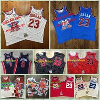 Hombre cosidoMitchell Ness ChicagoTorosJersey Michael JD Scottie Pippen 33 Dennis Rodman 91 Retro Baloncesto Jersey