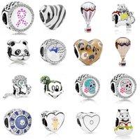NEW 2021 100% 925 Sterling Silver798056ENMX Wild Stripes Charm and luxurious DIY Women Original Bracelet Fashion Jewelry Gift