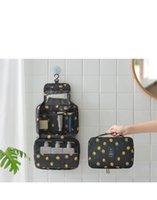 DHL FREE Storage Boxes Bins Hanging Makeup Bags Travel Toilet Women Case Hook Cosmetic Pouch Organizer Bag Gadget Large