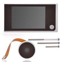Mini Hd Outdoor Electronic Cat Eye Camera Viewer 3.5-inch Indoor Lcd Color Screen Doorbells