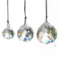30 мм хрустальный шар призмы подвесные граненые кристаллические стекло призмы потолочные лампы освещения подсветки люстры капельки свадьбы свадебный декор bwf6410