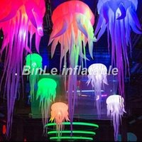 아름 다운 2.5m LED 빛 풍선 해파리 파티 결혼식 무대 장식 풍선 판매