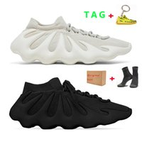 KANYE 450 Hommes Chaussures de course pour femmes Nuage White Blanc Dark Skin Sports Sneaker Sneaker Taille 36-45
