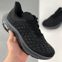 2021 Zooms Mens women running shoes Black White Breathable O...