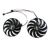 Fans & Coolings FDC10U12S9-C T129215SU PLD10010S12HH Cooler For ASUS ROG-STRIX-RX 5500 XT-O8G-GAMING DUAL-RX5500 XT-O8G-EVO Video VGA Replac