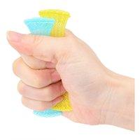 Malla de mármol Fidget TUJE TUBO MARbles y mallas Finger Mano Fidgets Adhd Añadir OCD Alivio de Estrés Bola Presión Sensorial Autismo Ansiedad Terapia Juguetes DHL