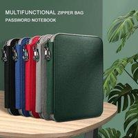Zipper Spiral Binder Leather Planner Travelers B5 Noteboook Agenda Organizer Stationery School Supplies Notebooks And Journal Notepads