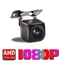 Car Rear View Cameras& Parking Sensors AHD 1080P Vehicle Camera HD Night Vision Backup Camcorder Highly Waterproof Reversing Monitor
