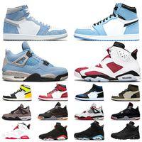 air jordan 1 4 6Tasarımcı Erkekler 6 6 s Basketbol Ayakkabı Tinker UNC Mavi Siyah Kedi beyaz Kızılötesi Kırmızı Carmine Maroon Toro Erkek Eğitmen Spor Sneaker Boyutu 41-47